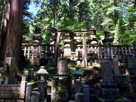 Okuno-in, okunoin, koya-san, japan, spirits in transit, cemetery, world heritage site, Terry Donohue