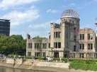 The Atomic Dome in Hiroshima. This building, at ground zero, survived the atomic bomb and stands as a telling reminder of the insipid power of nuclear weapons.