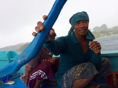 Captain of the boat from Banda Naira to Pulau Run