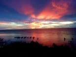 Sunset in Pulau Run