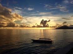 Sunset Pulau Ai