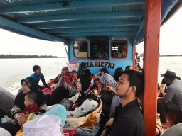 Public boat to Balai, Singkil, Solo Kayaking, Kayaking, Banyak Islands, island paradise, beach, perfect beach, camping, Sumatra, Indonesia