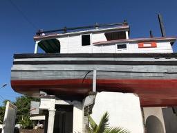 Lampulo, Banda Aceh, boat on house, kapal diatas rumah, Sumatra, Indonesia