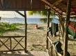 Beach hut Pulau Sikandang
