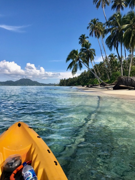 Solo Kayaking, Kayaking, Banyak Islands, island paradise, paradise, beach, perfect beach, camping, Sumatra, Indonesia, Pulau Lamun