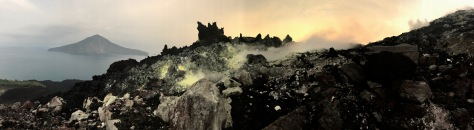 View Anak Krakatau, Krakatoa, Rakata, Indonesia, volcano