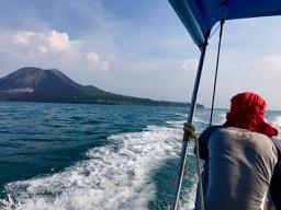 Boat to Krakatau, Krakatau, Krakatoa, volcano, Indonesia