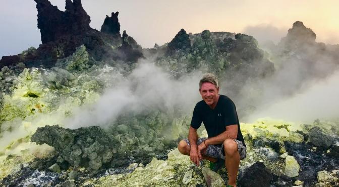 adventure travel, Anak Krakatau,Krakatau,Krakatoa,Terry Donohue, travel writer, volcano, Indonesia