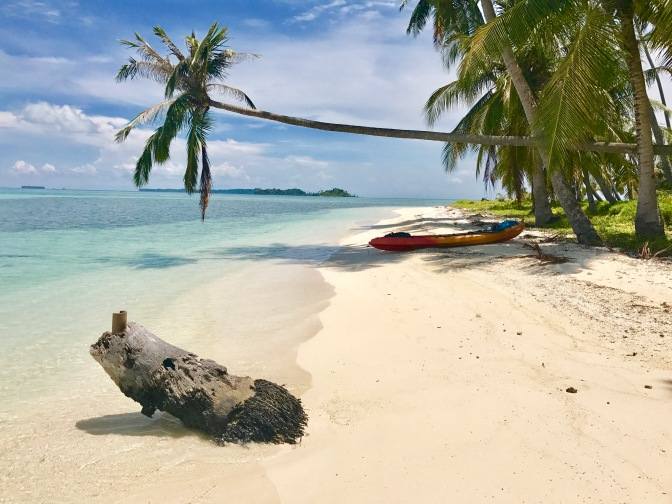 Solo Kayaking, Kayaking, Banyak Islands, island paradise, beach, perfect beach, camping, Sumatra, Indonesia