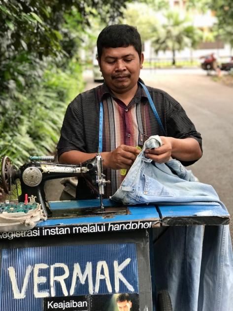street vendors, jakarta, kaki lima, indonesia, street vendor, terry donohue, java