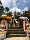 Temple festival central Bali