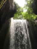 Tukad Cepung waterfall and canyon near Bangli, Bali