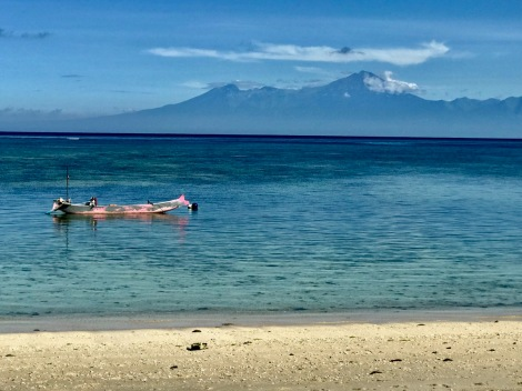 Rinjani from Jelenga Beach
