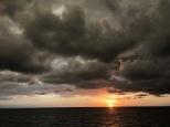 Michelango-inspired sunset