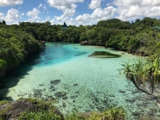 The stunning Weekuri Lagoon